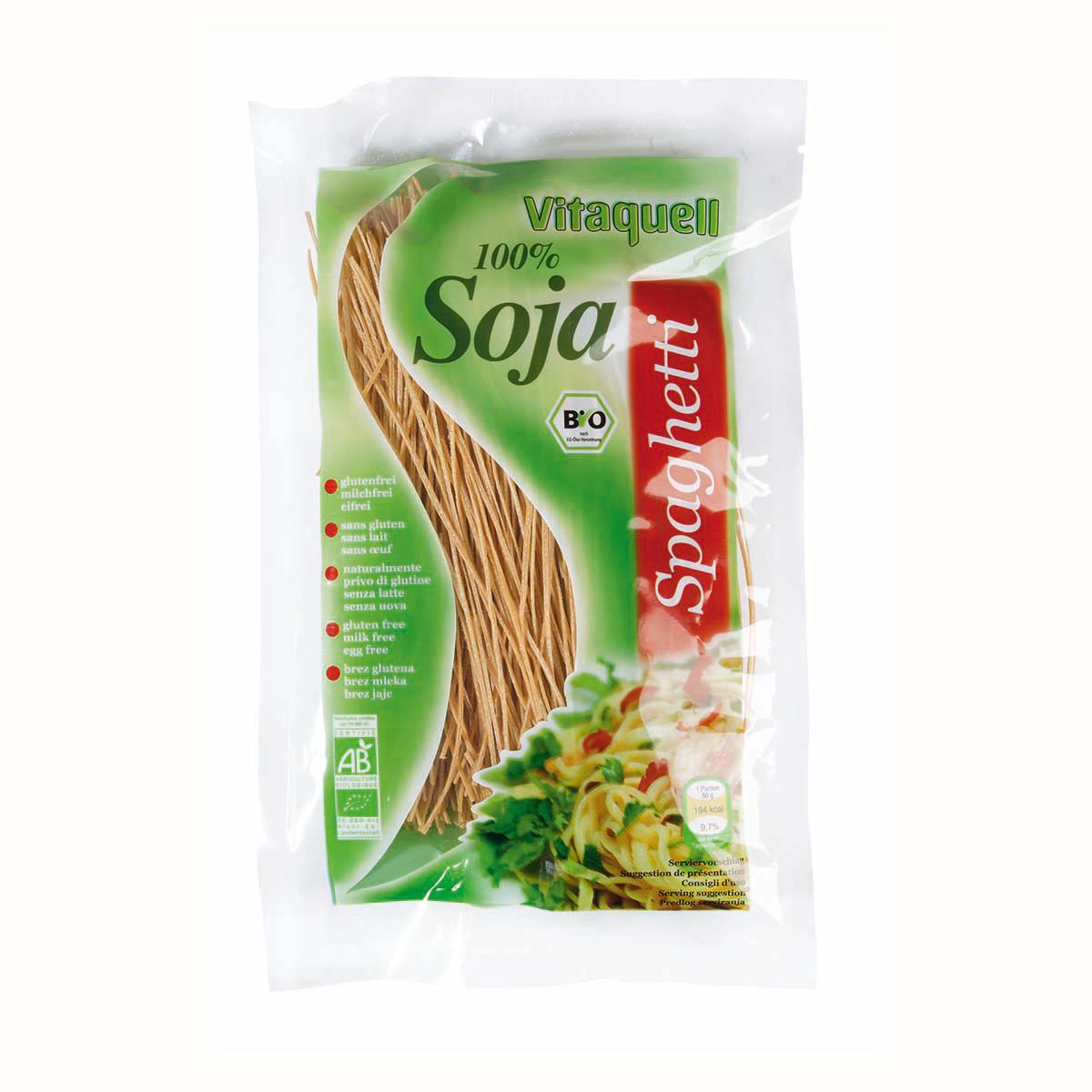 Spaghettis au soja