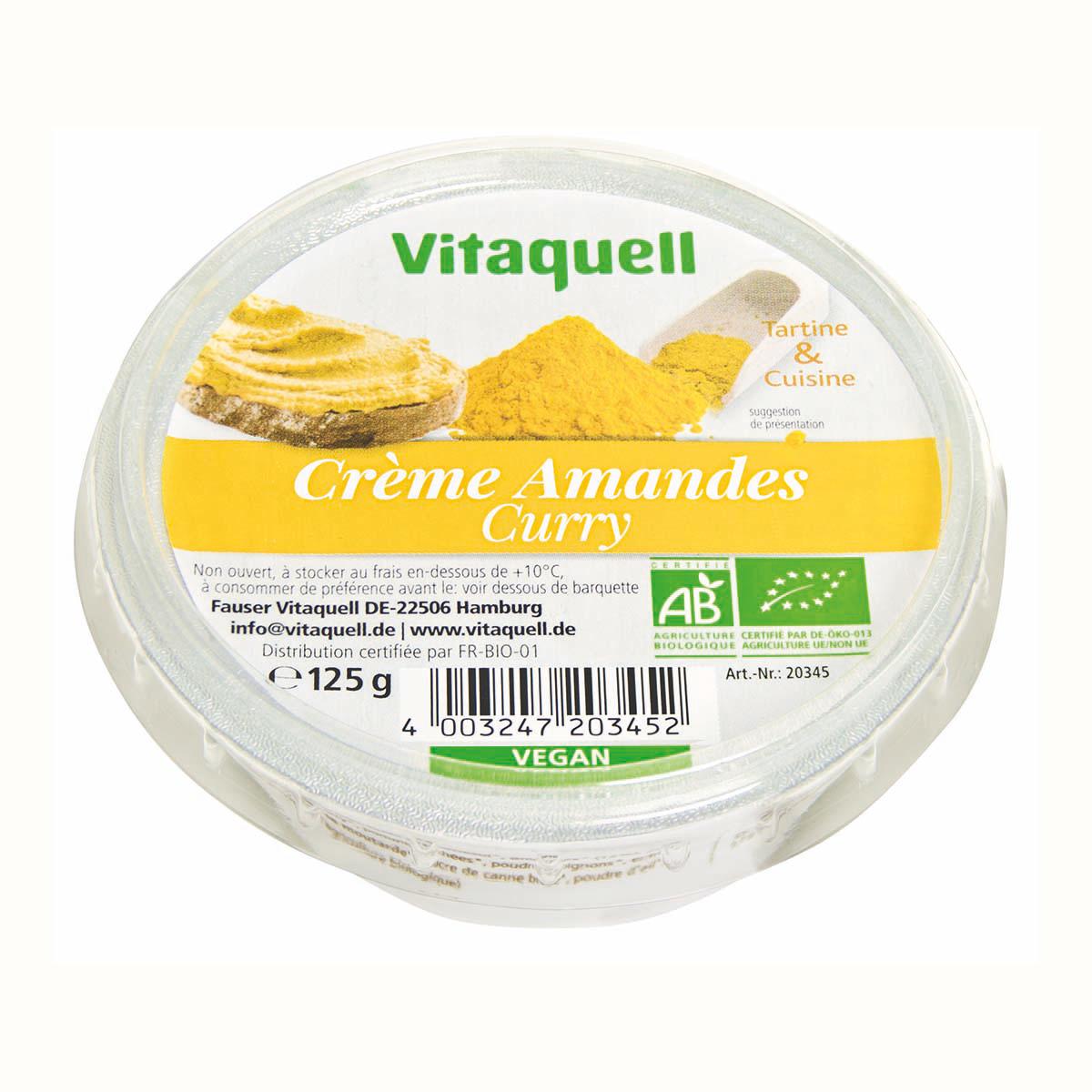 Crème Amandes Curry