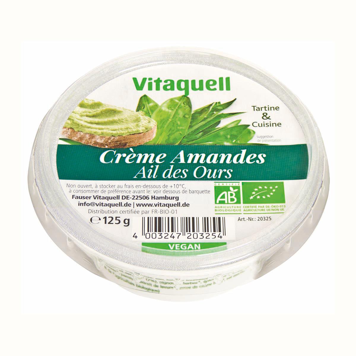 Crème Amandes Ail des Ours
