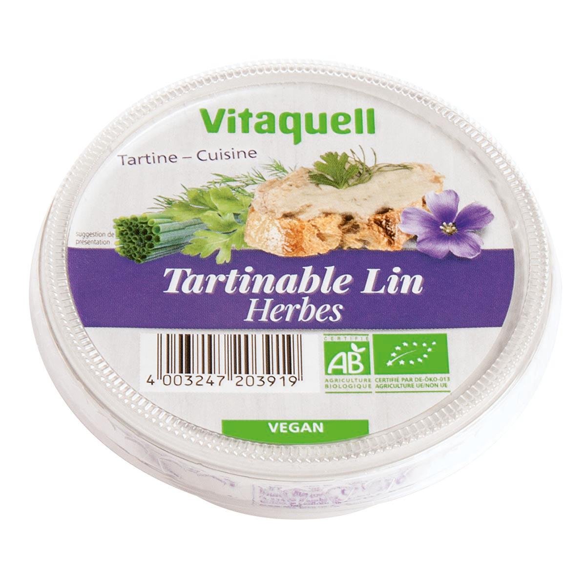 Crème de Lin aux Herbes