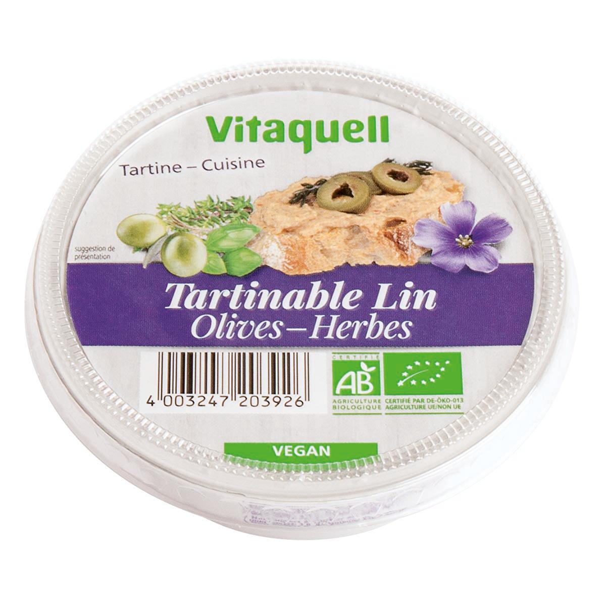 Crème de Lin Olives-Herbes