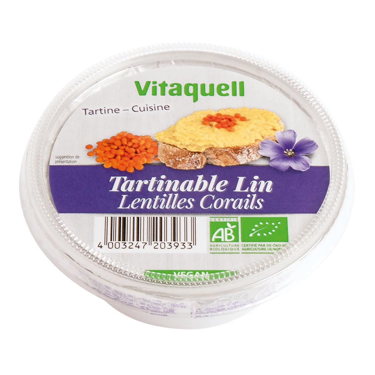 Crème de Lin Lentilles Corail